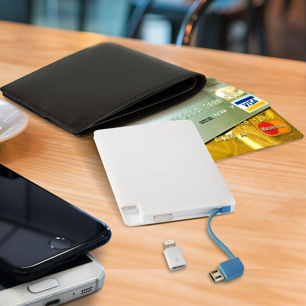 Creditcard powerbank - Universeel