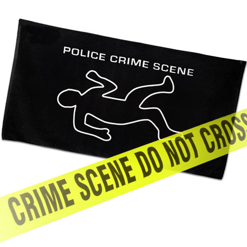 Crime Scene Towel
