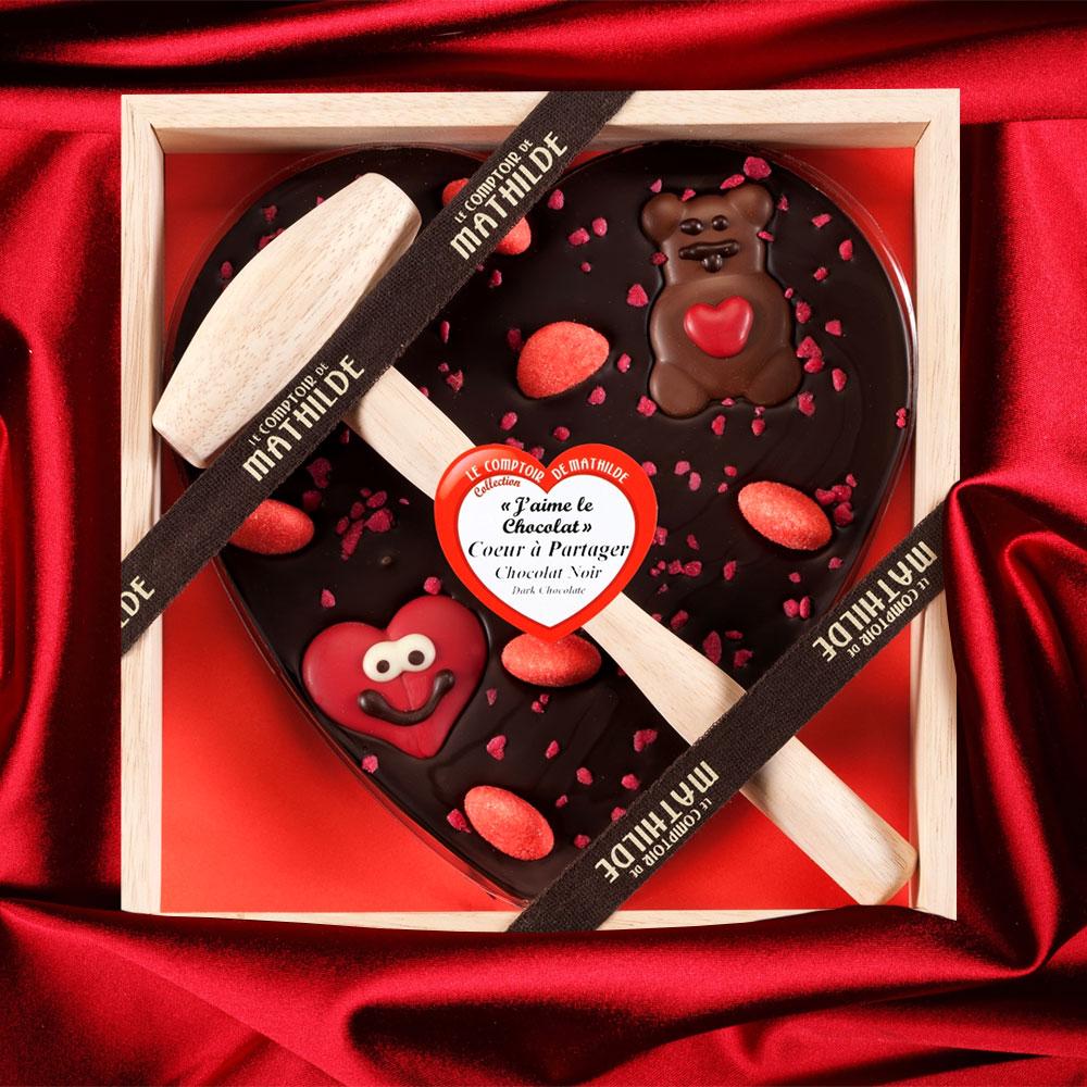 Chocolade Hart met Hamer