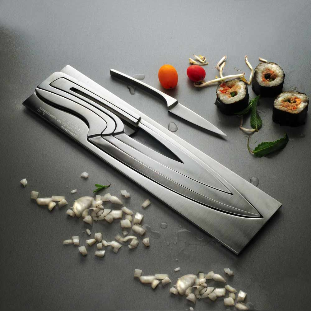 Deglon Meeting Knife Set | MegaGadgets