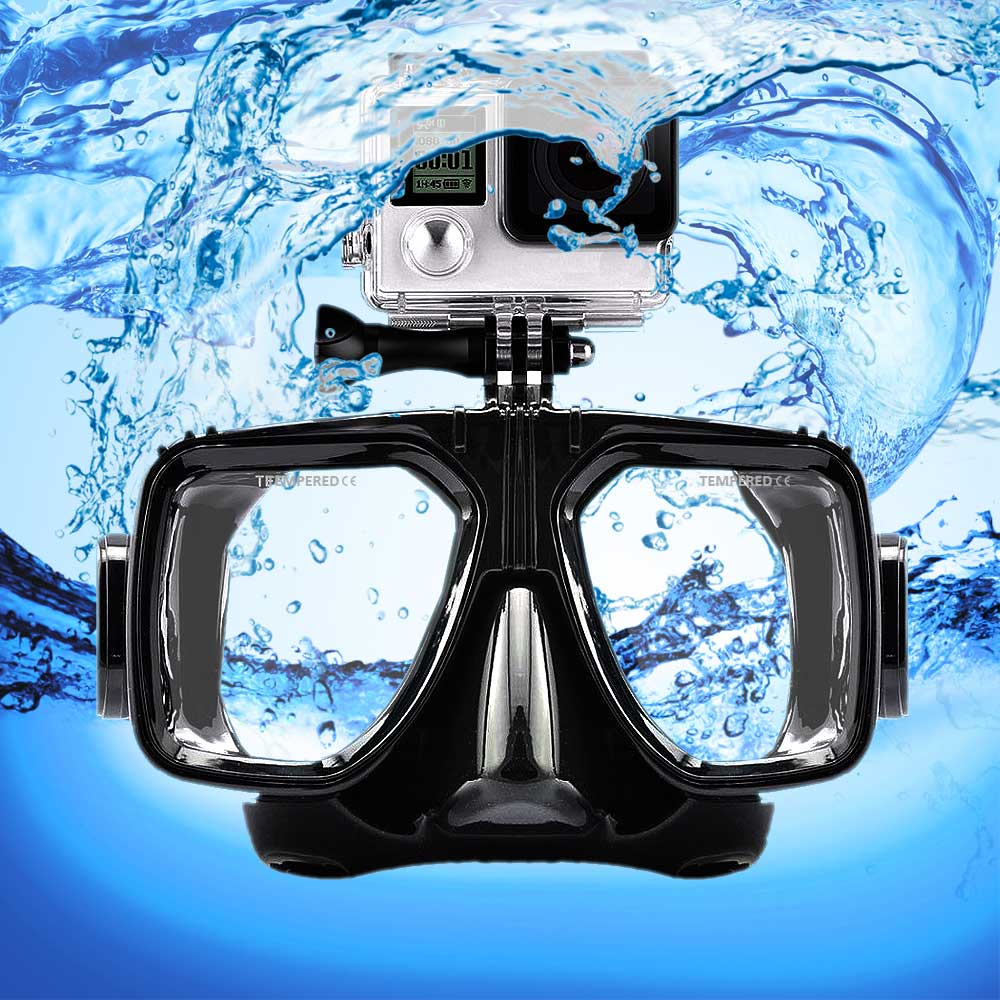 Duikbril met GoPro mount