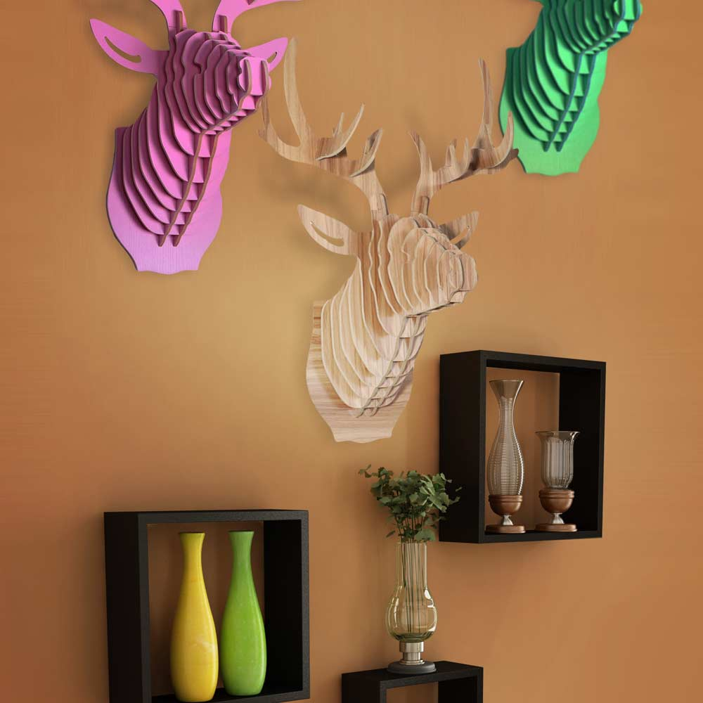 DIY Deer Head | MegaGadgets