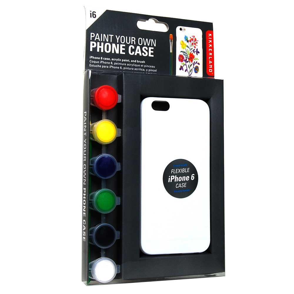 Verf je eigen telefoon hoesje met deze DIY Case