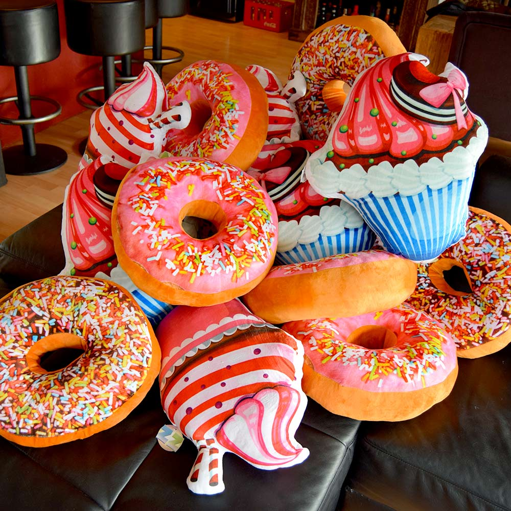 Donut Kussen | Megagadgets