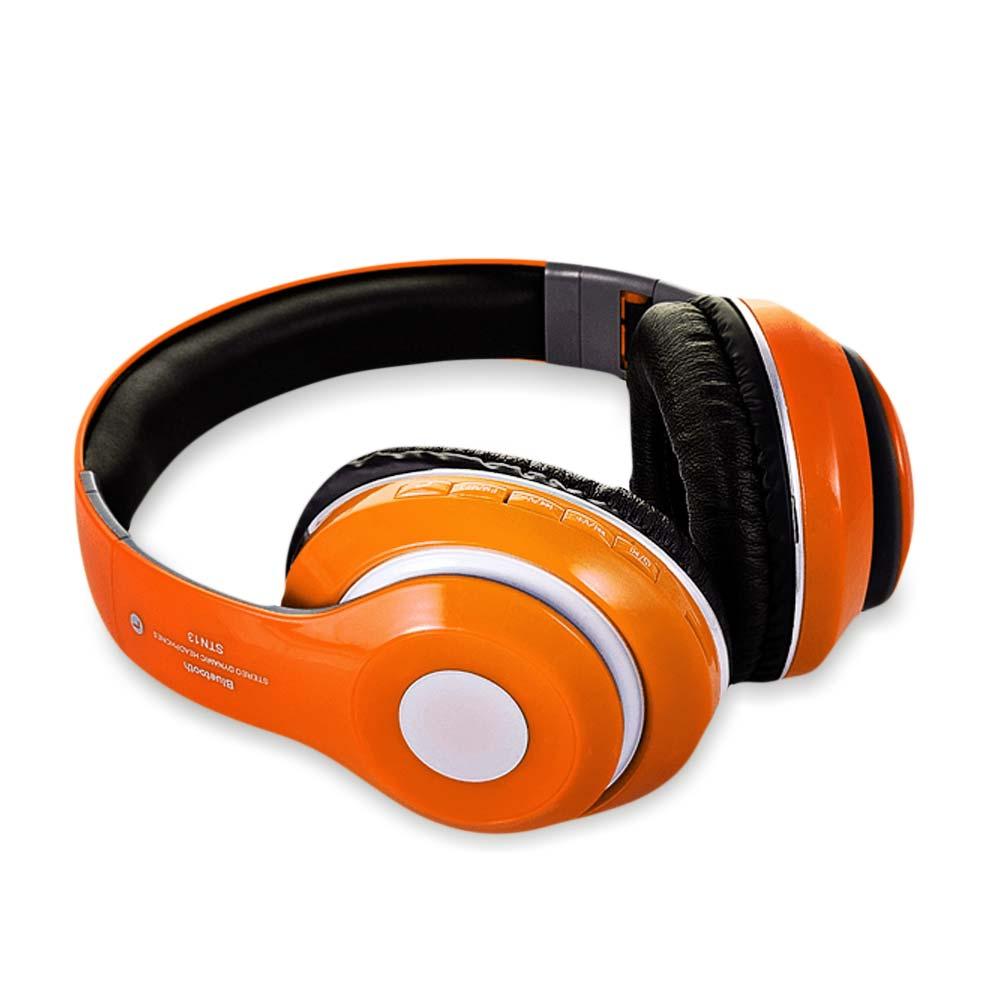koptelefoon oranje