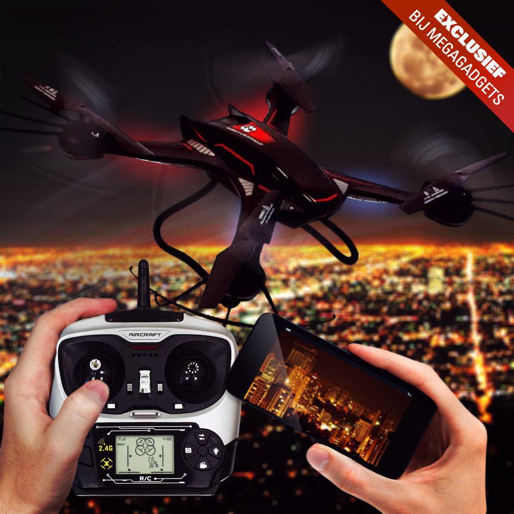 S3 Quadcopter met Wifi FPV | Megagadgets