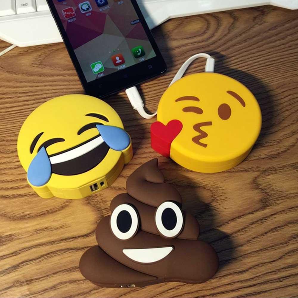 Dagaanbieding - Emoji Powerbanks dagelijkse aanbiedingen