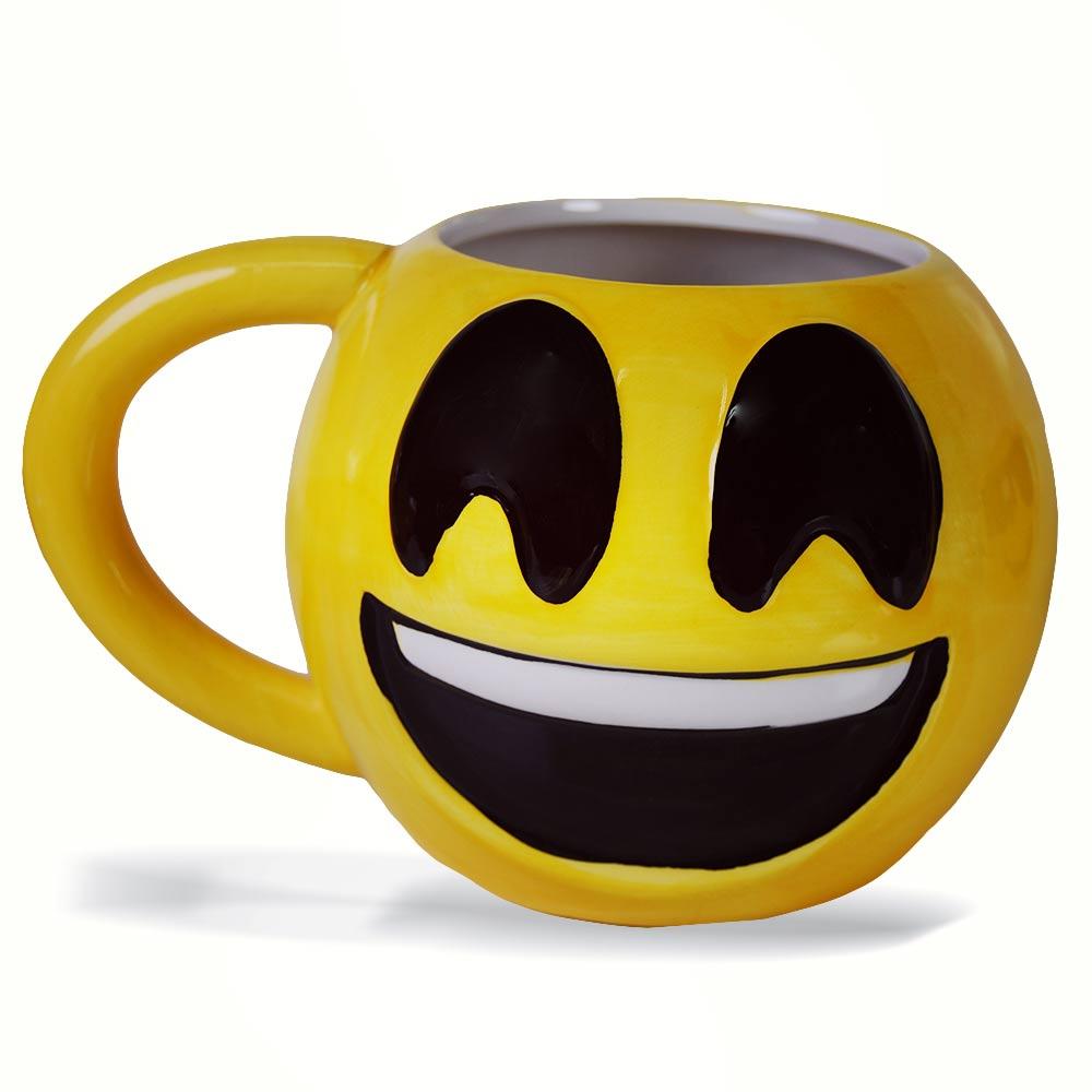 Leuke emoji mok - Happy Face
