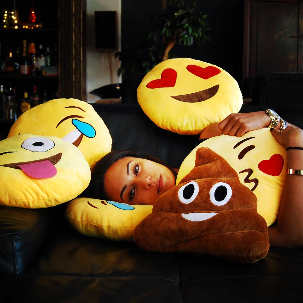 Image of Emoji kussens Original- Smiling Poo