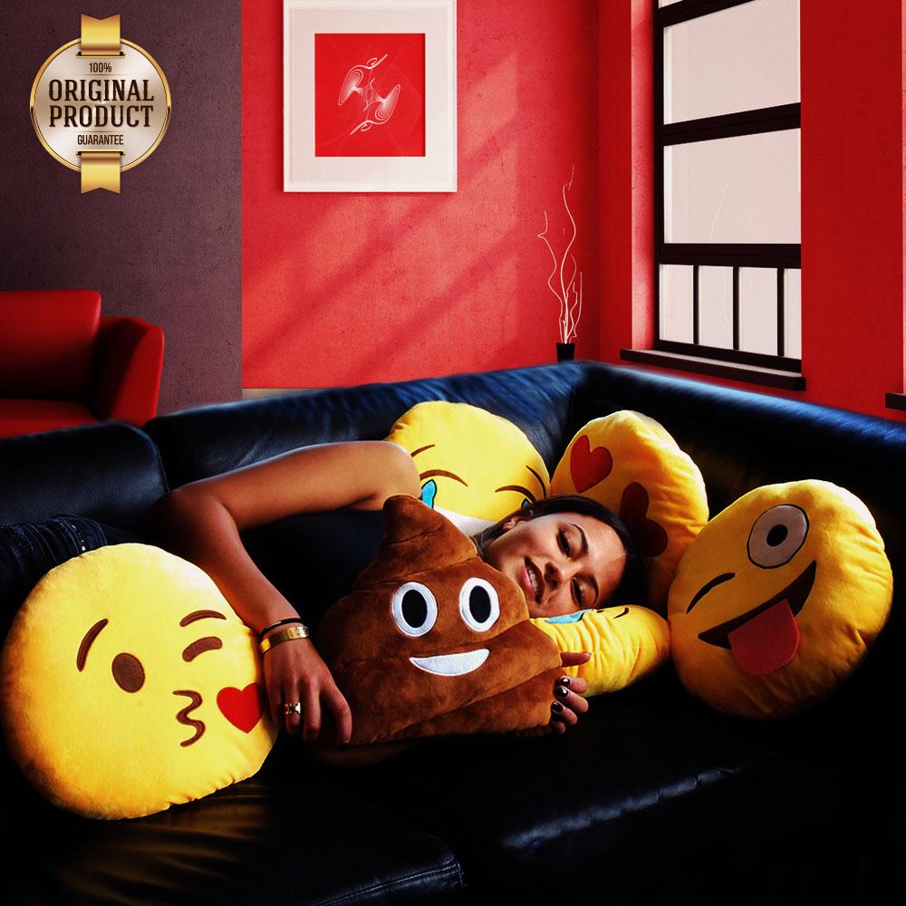 Dagaanbieding - Emoji kussens | The Original dagelijkse aanbiedingen