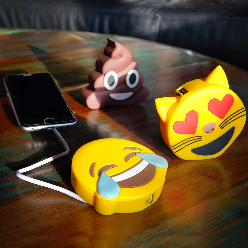 Emoji Powerbanks | MegaGadgets