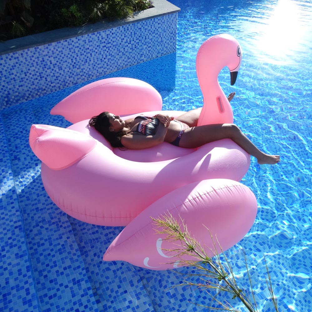 Opblaasbare Flamingo 1,9m