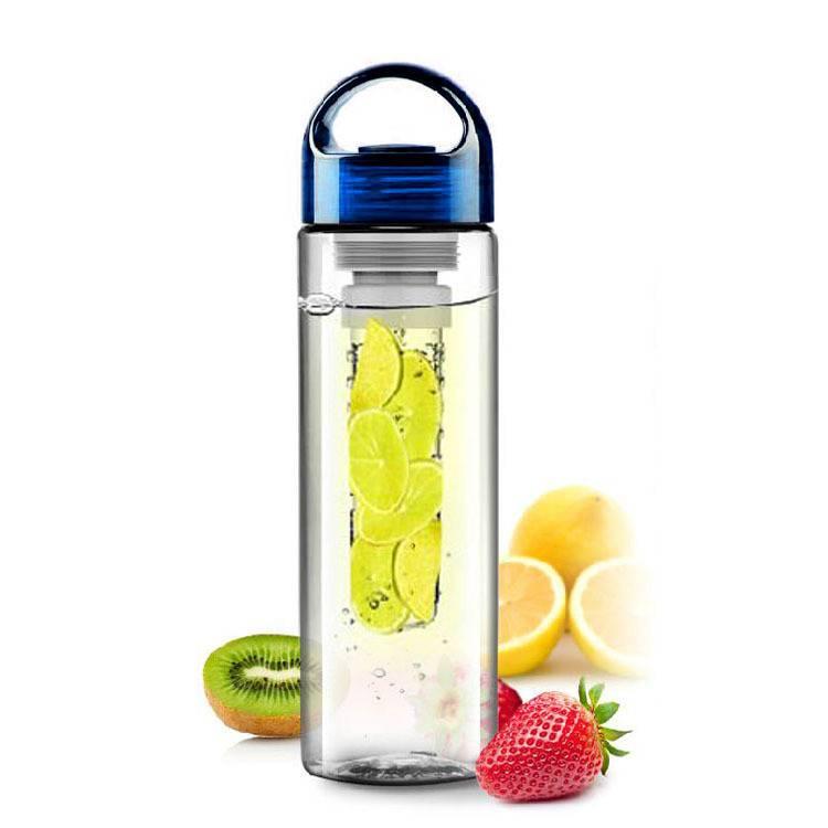 Waterfles met fruit filter, drink voortaan lekkere fruitwater met deze waterfles
