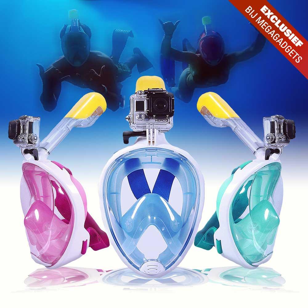 Snorkelmasker met GoPro mount | MegaGadgets