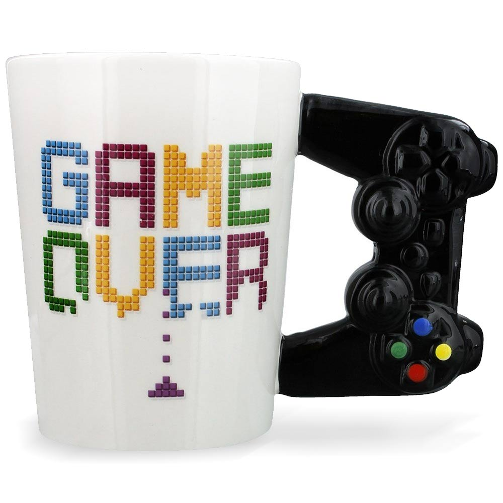 Met deze Game Over Mok kun jij onbeperkt door met gamen!