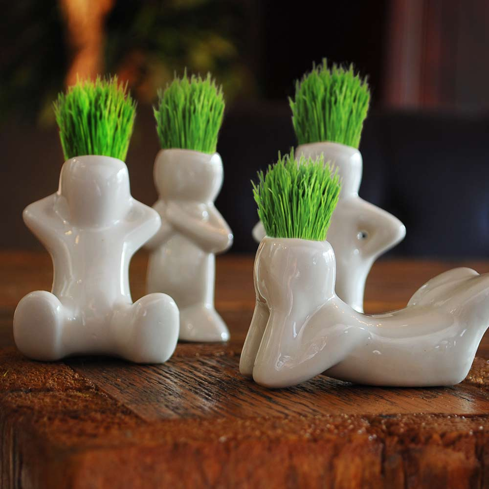 Image of Grass Doll Heads -Grass Dol 1