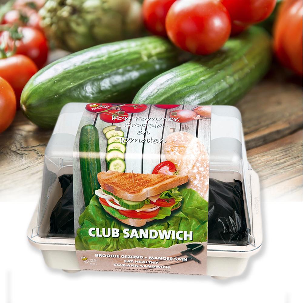 Grow your own Club Sandwich