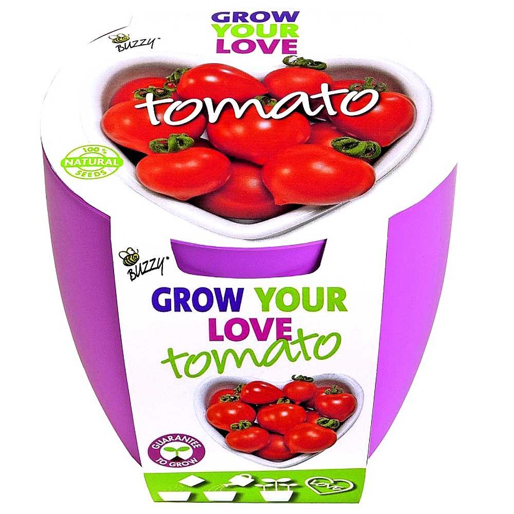 Hartjes liefde tomaten