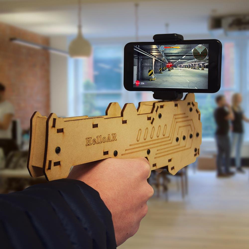 AR Smartphone Geweer
