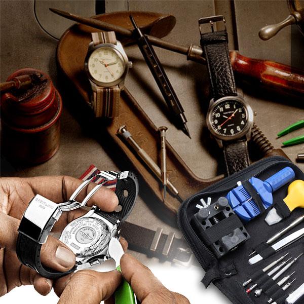 Horloge gereedschap set | MegaGadgets.nl