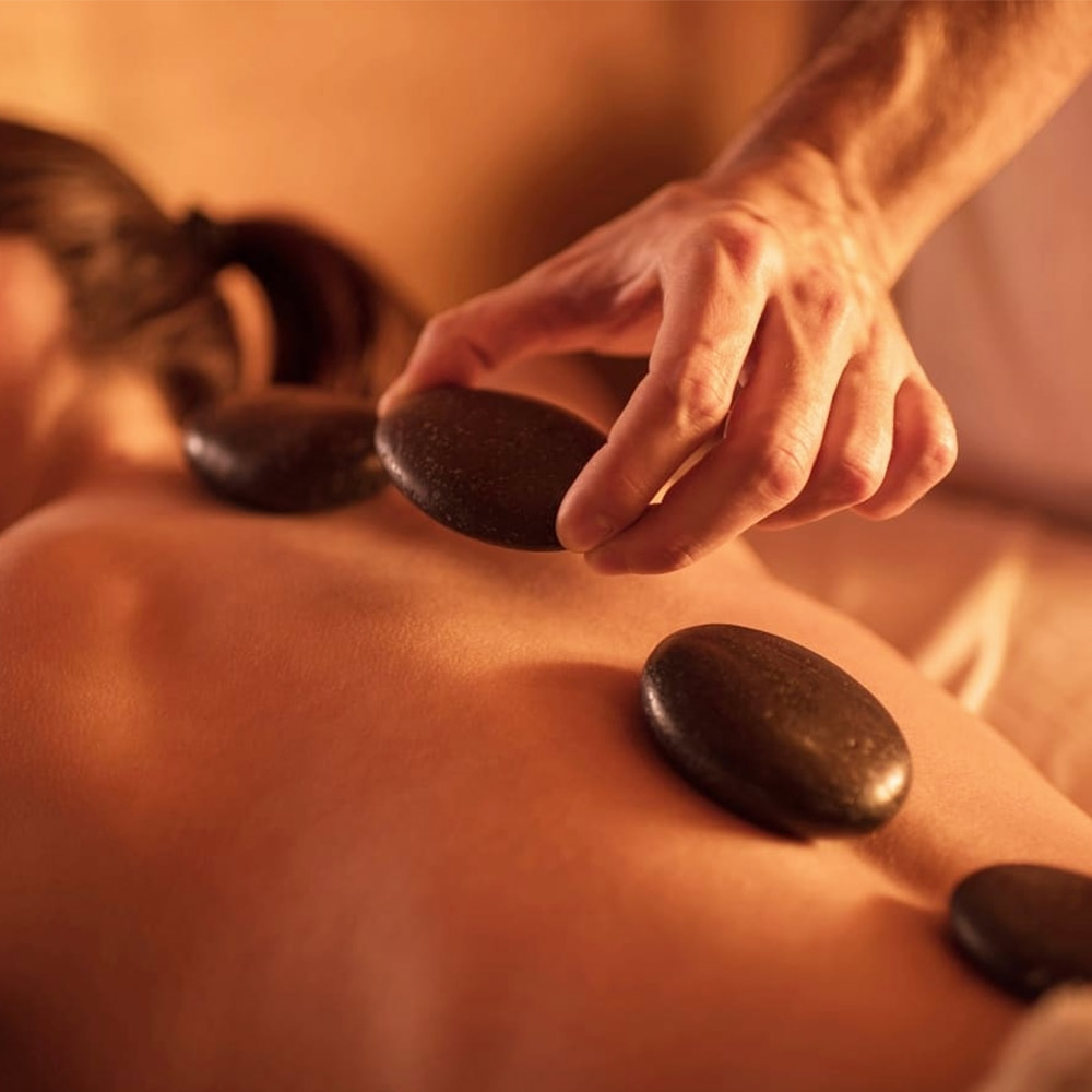 Hot rocks massage stenen