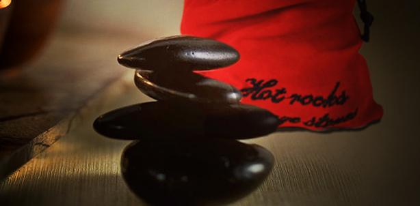 Hot rocks massage stenen