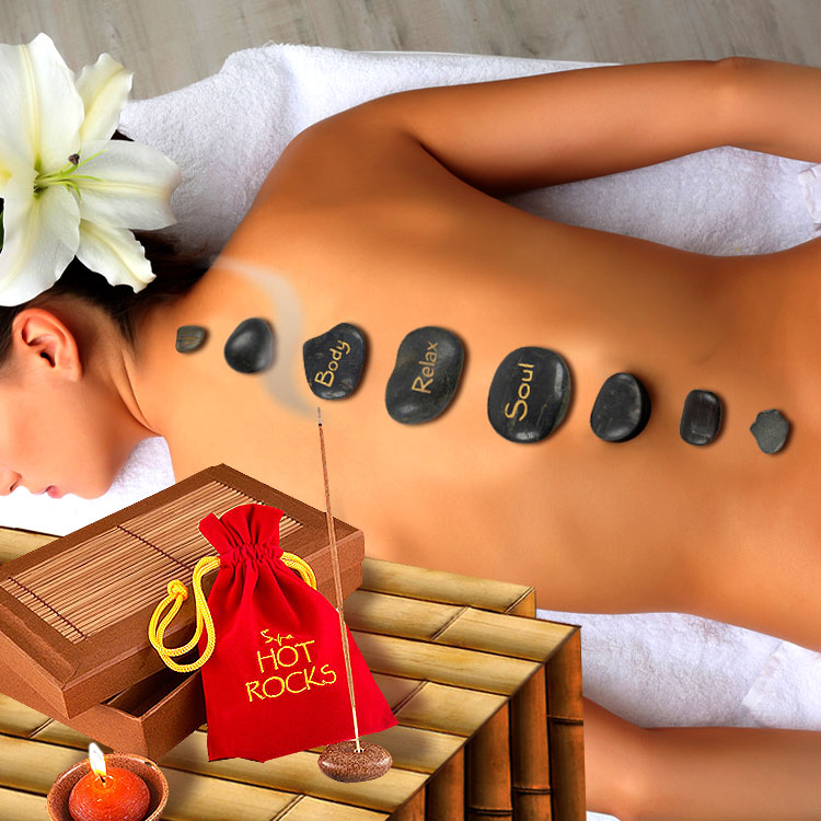Hot Stone Massage Set | MegaGadgets