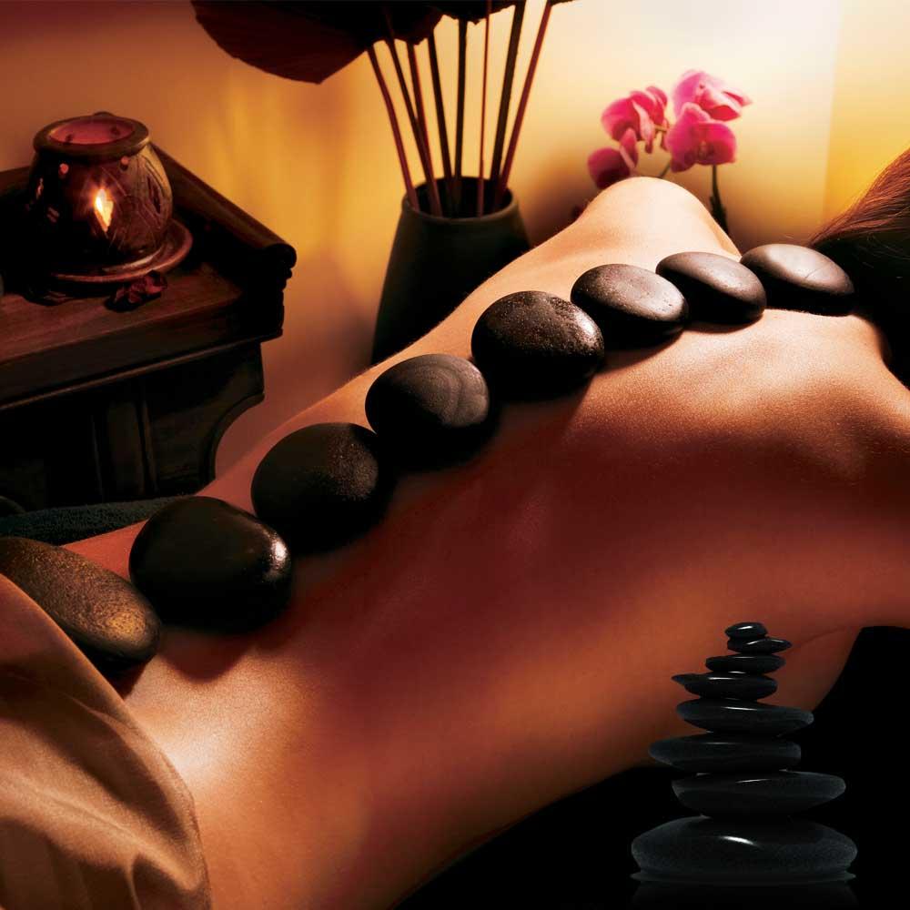 Dagaanbieding - Hot rocks massage stenen dagelijkse aanbiedingen