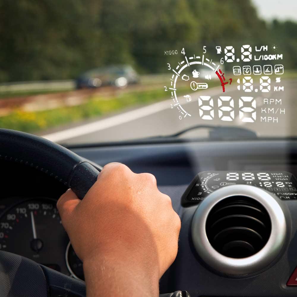 "Car HUD system 5.5"" | MegaGadgets"