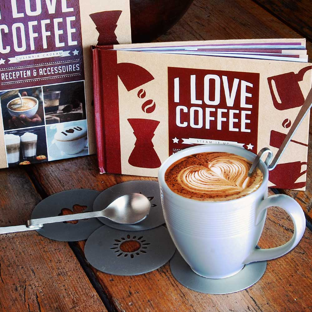 I Love Coffee Cadeaubox | MegaGadgets