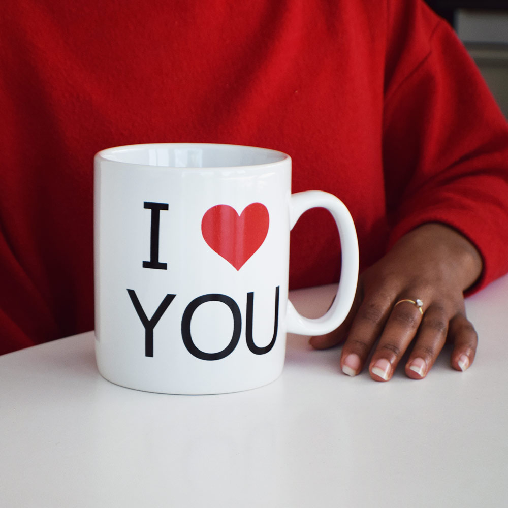I Love You Mug XL