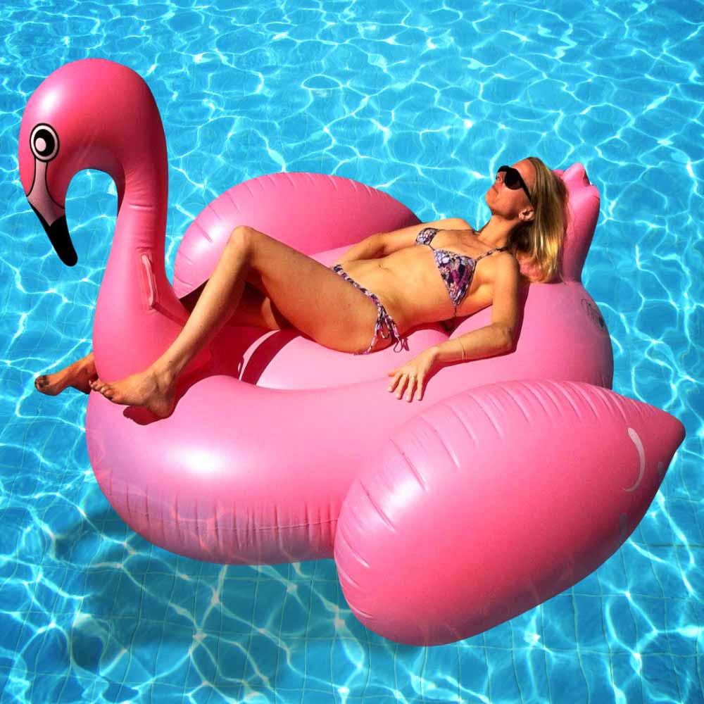 Opblaasbare Flamingo | MegaGadgets