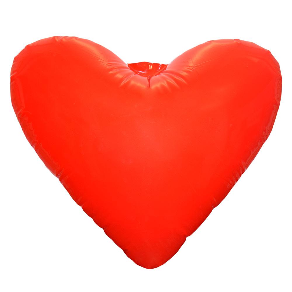 Met dit Opblaasbaar Hart XL verover je ieders hart!