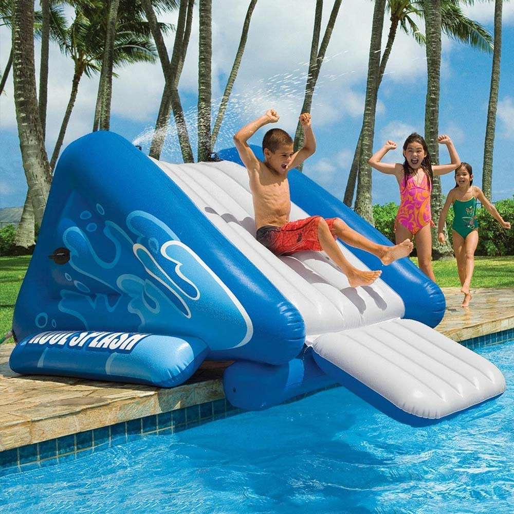 Opblaasbare Zwembad Glijbaan | MegaGadgets
