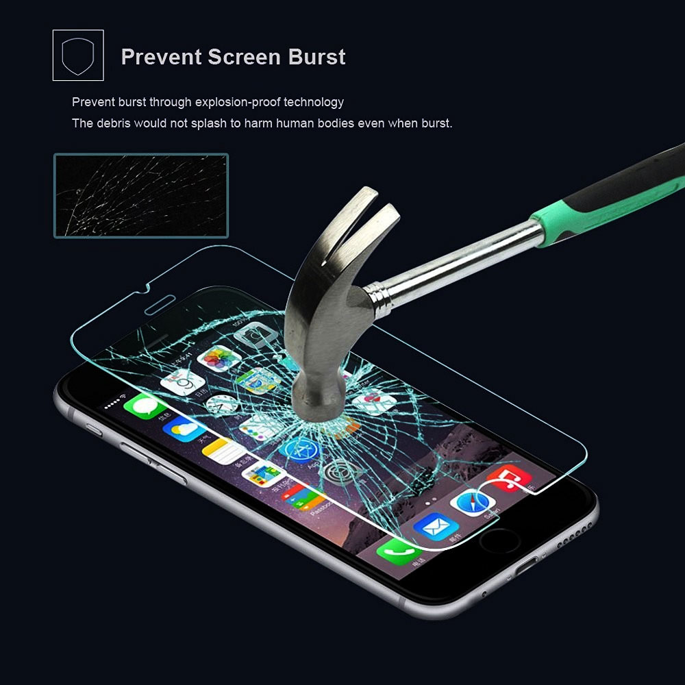 Tempered Glass Screen Protector - Samsung S7, Phone 7 & iPads