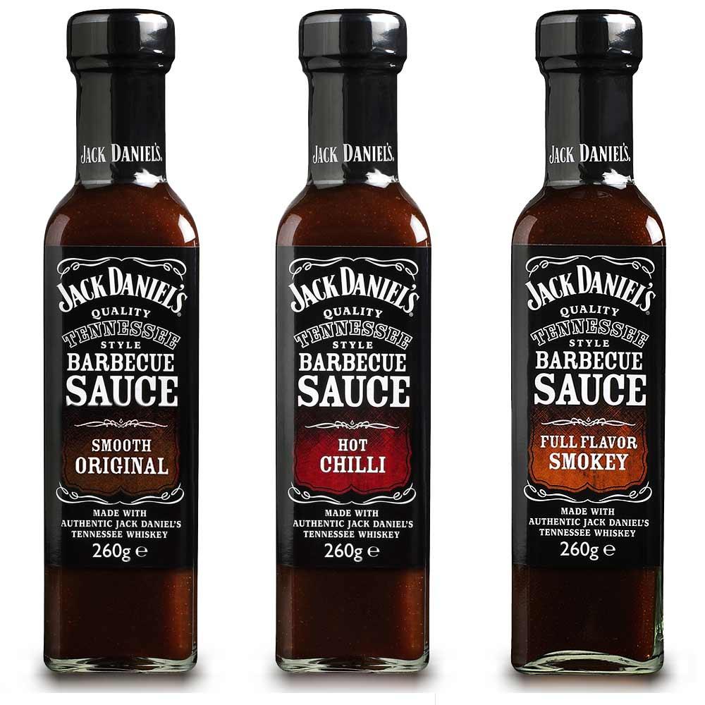Jack Daniels BBQ saus voor bij de barbeque