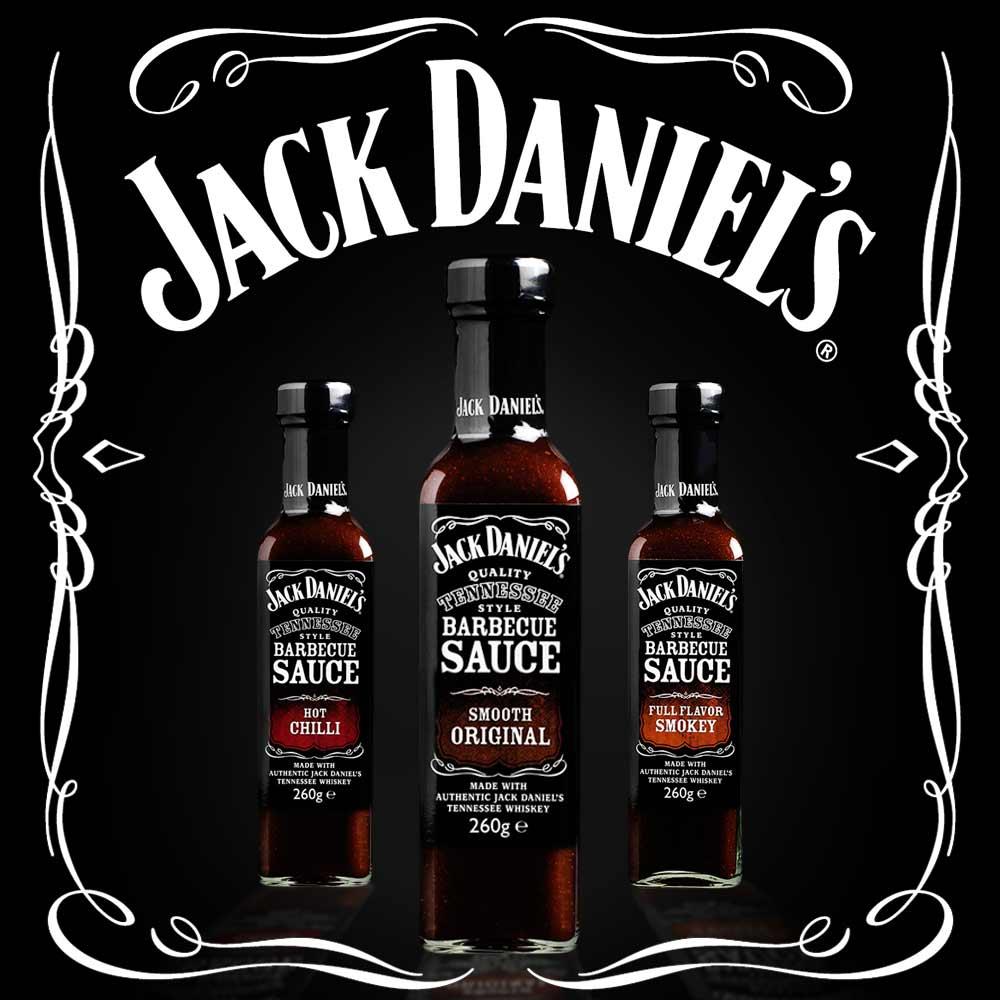 Jack Daniels BBQ Saus - Full Flavor Smokey