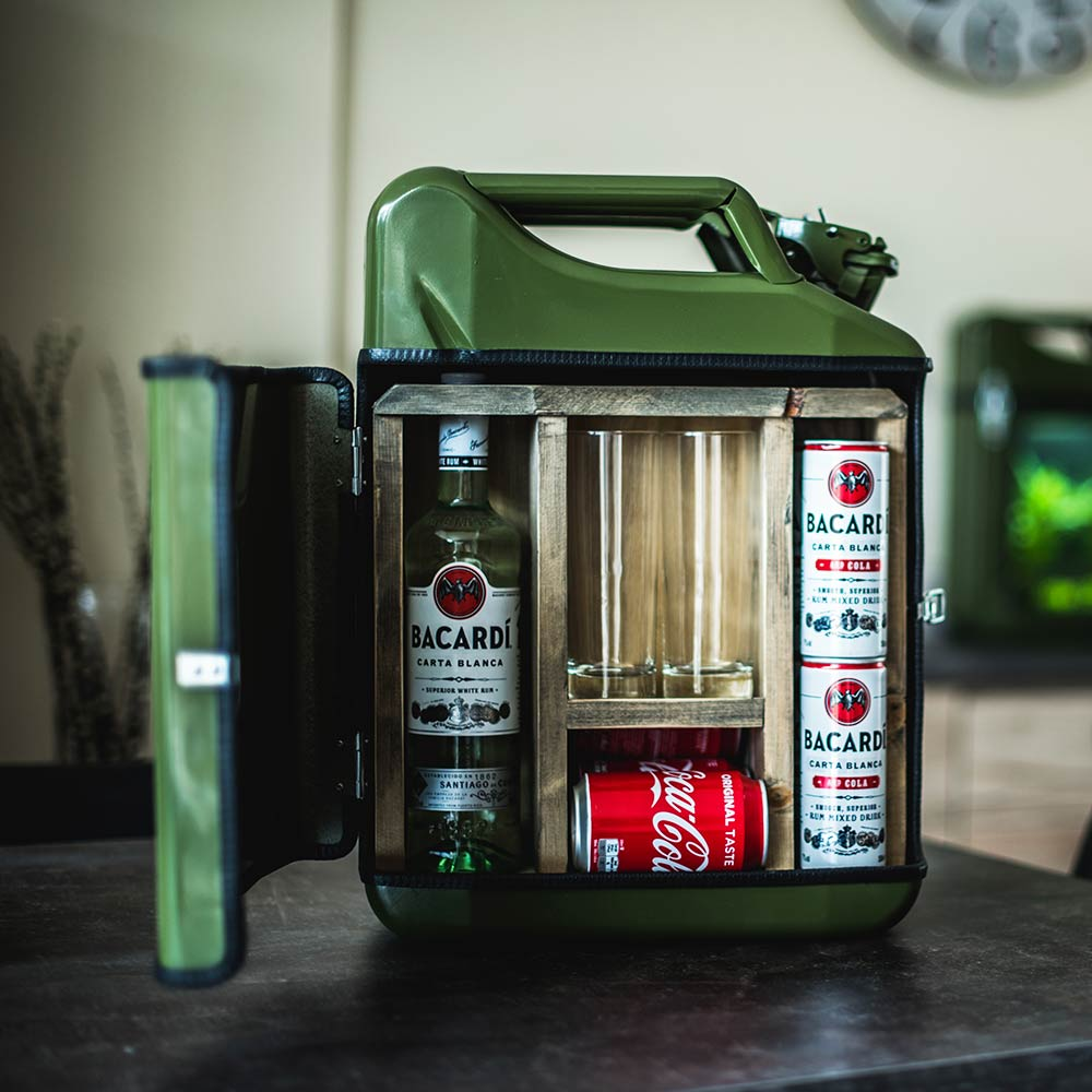 Jerrycan Bar - Sterke Drank - Geel
