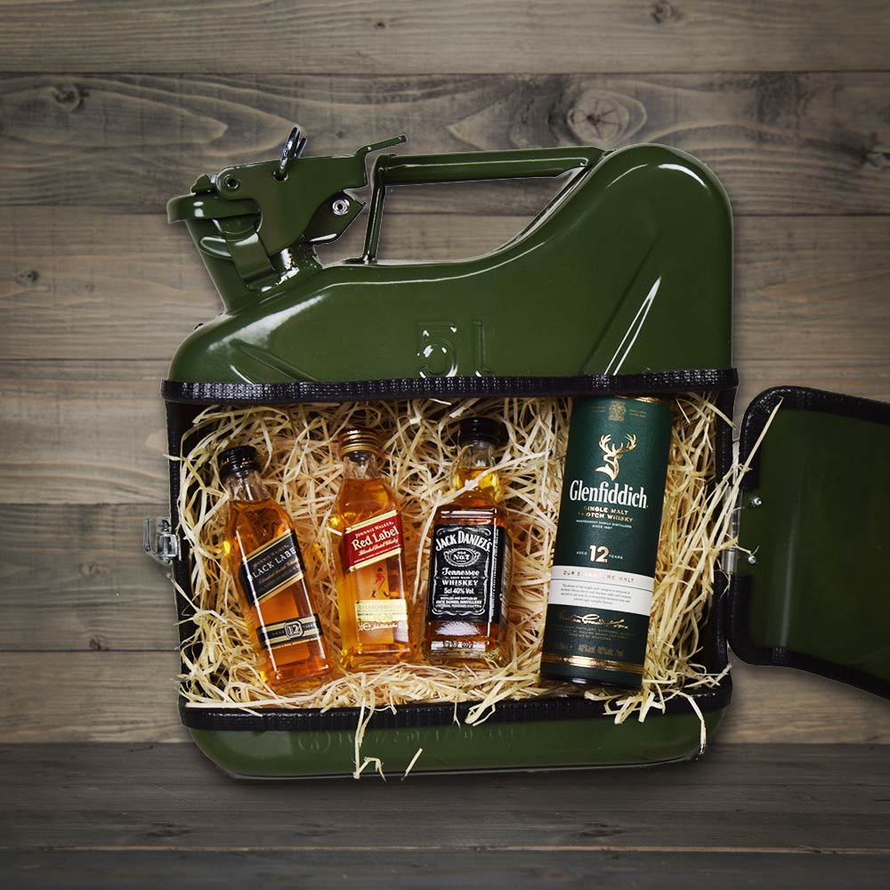 Jerrycan Whiskey Bar - Groen
