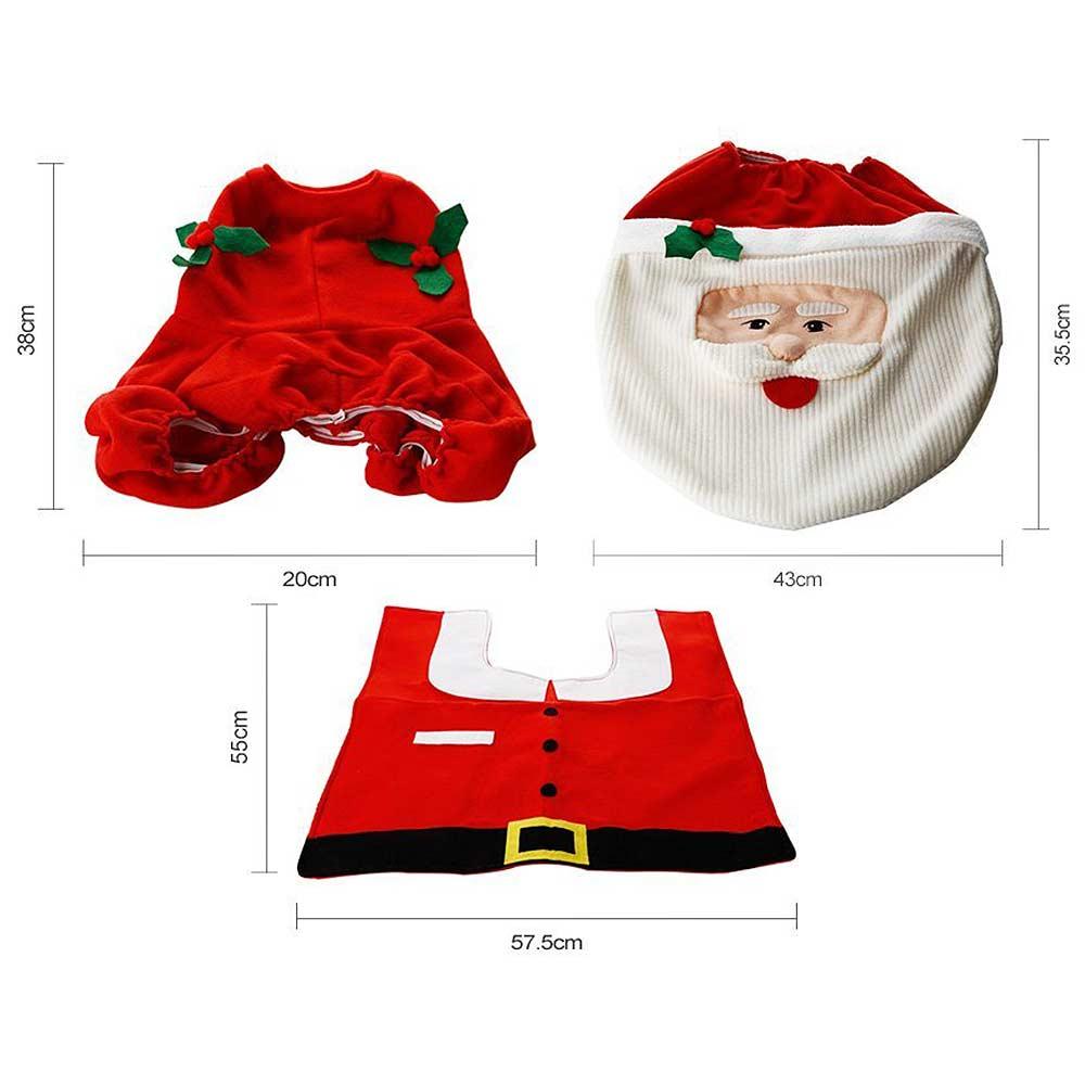 Kerstman Toilet Accessoires Voor 7 95 Megagadgets