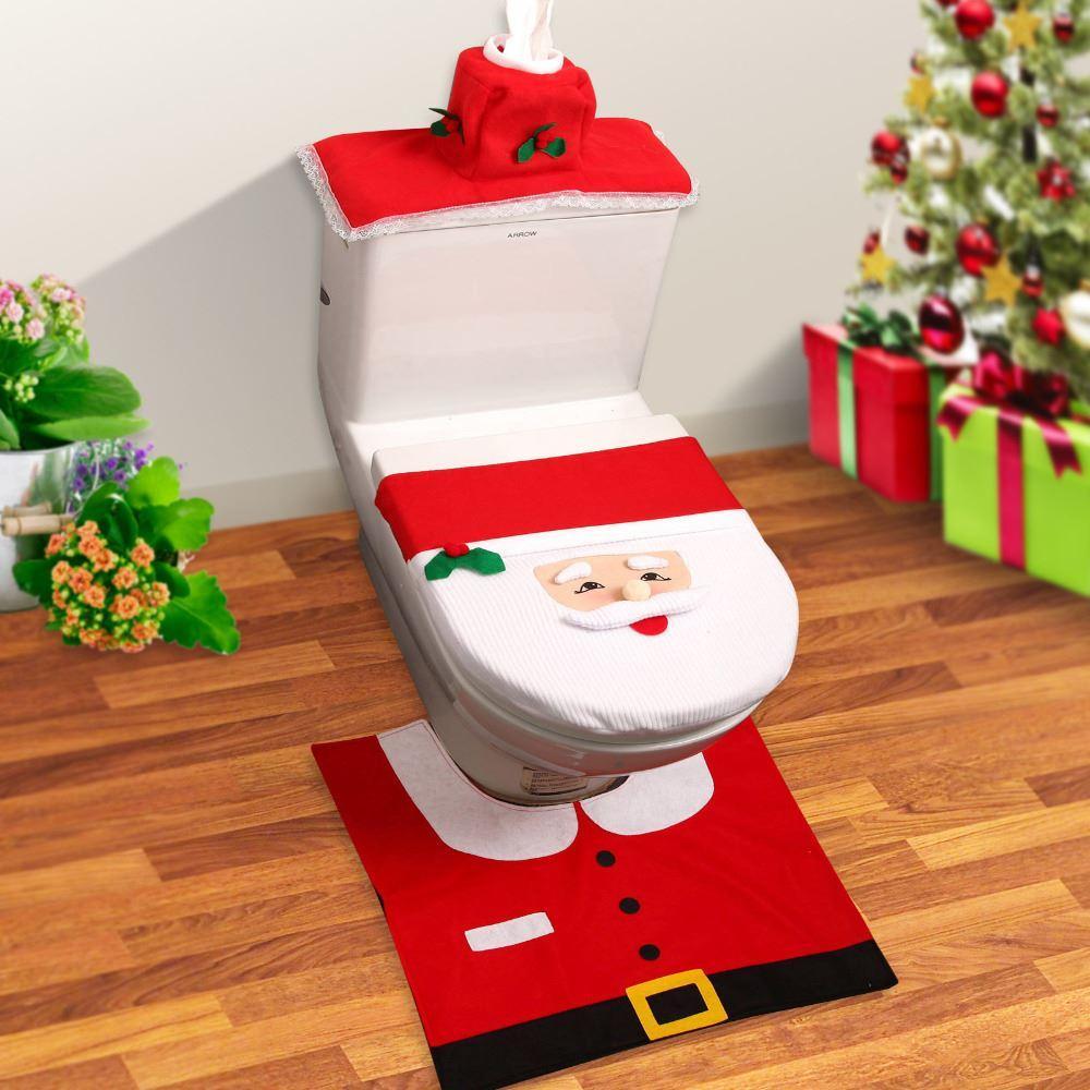 Kerstman Toilet Accessoires | MegaGadgets