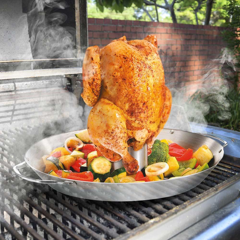 BBQ kip rooster