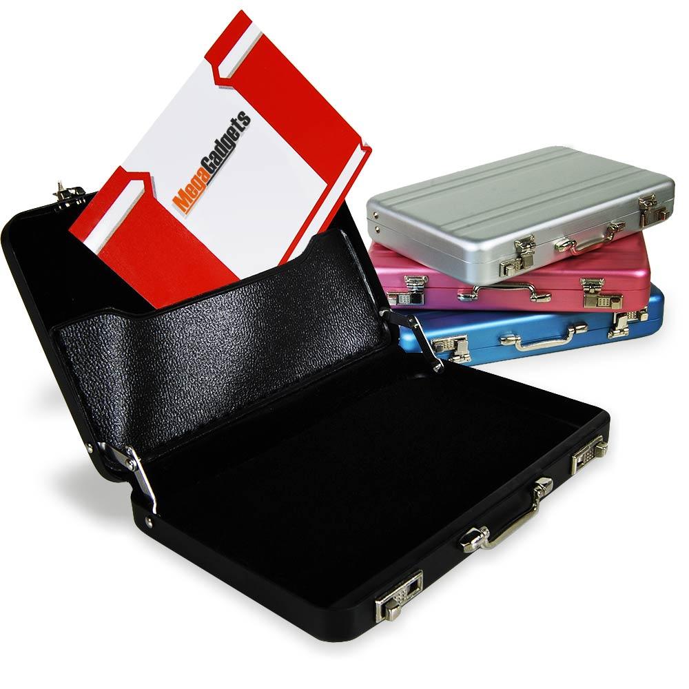 Mini koffer kaarthouder, super leuk voor je visitekaartjes en/of pasjeshouder