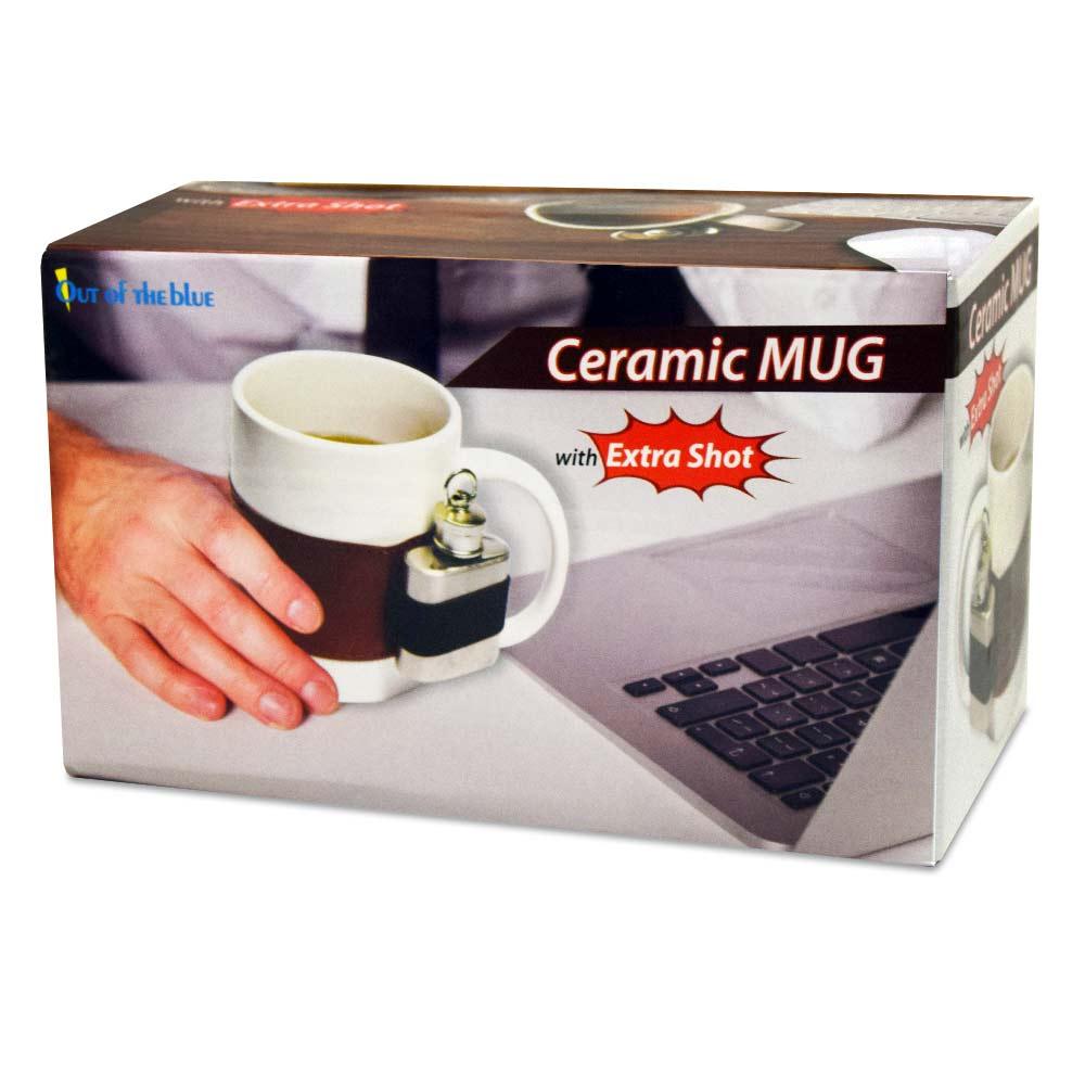 Koffiemok Met Extra Shot voor € 12,95