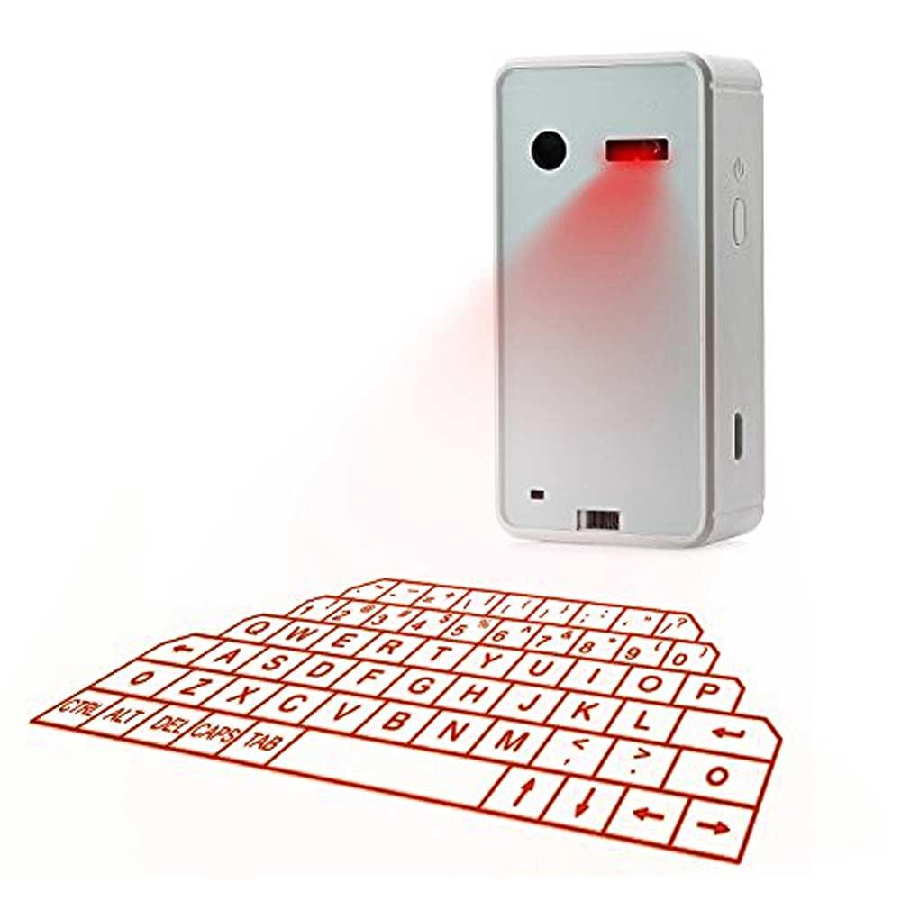 Laser Keyboard voor smartphone of tablet
