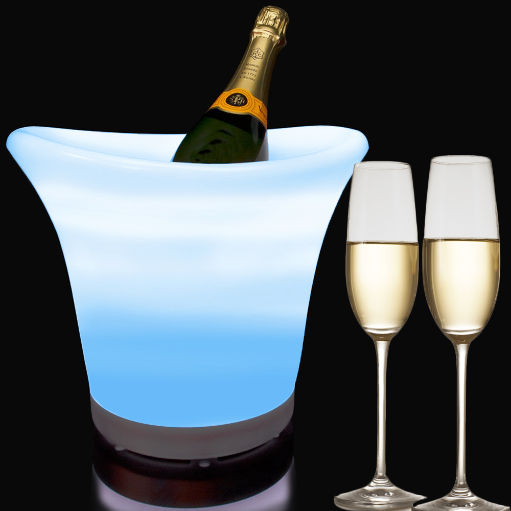 Dagaanbieding - LED Champagne Ice Bucket dagelijkse aanbiedingen
