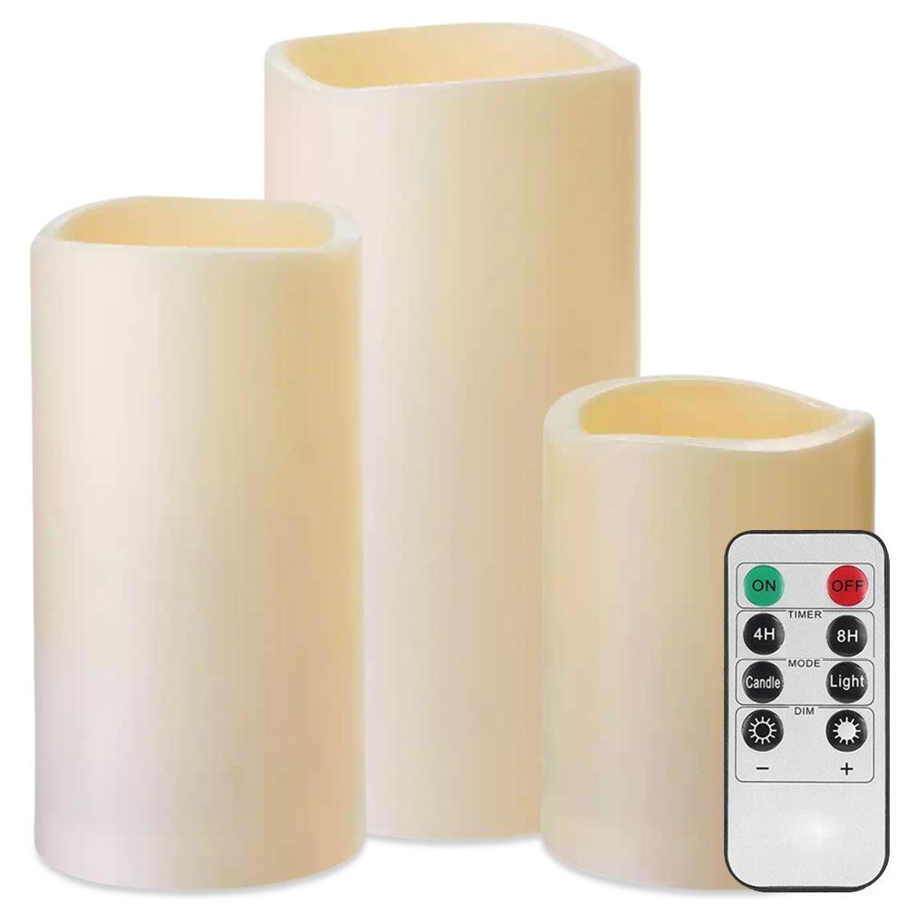 LED Kaarsen besturen met een handige afstandsbediening!