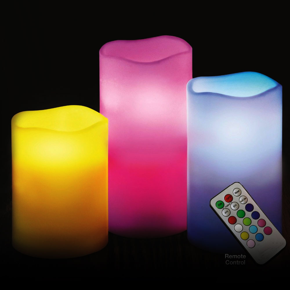 Rainbow Candles(Multi Color)