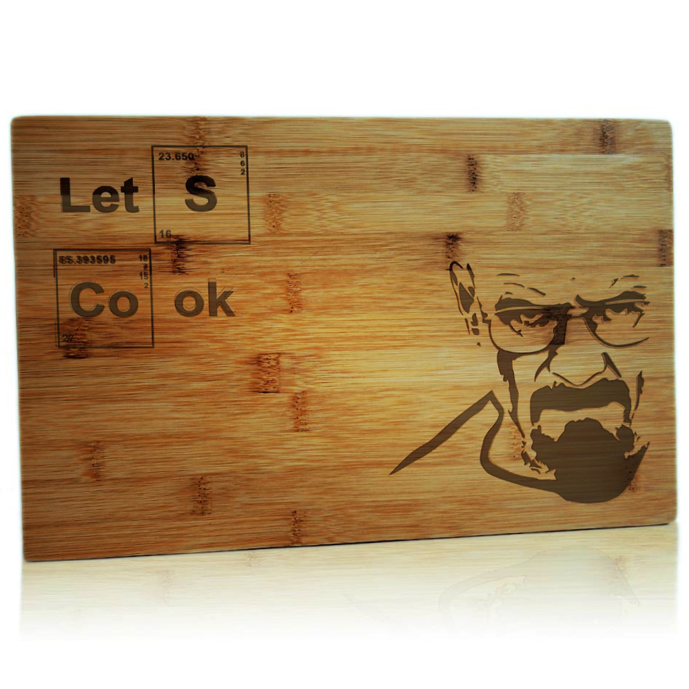 Koken op de grootste Let's Cook snijplank