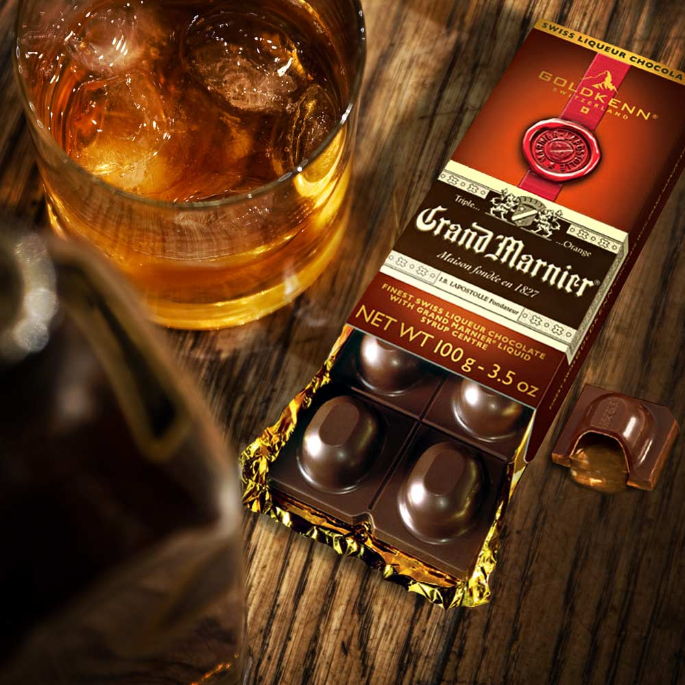 Liquor Chocolate Bar - Cointreau